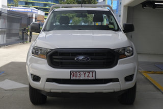 2019 Ford Ranger PX MkIII 2019.75MY XL Double Cab White 6 Speed Sports Automatic Cab Chassis