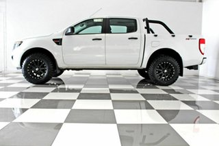 2014 Ford Ranger PX XL 2.2 Hi-Rider (4x2) White 6 Speed Automatic Crew Cab Pickup