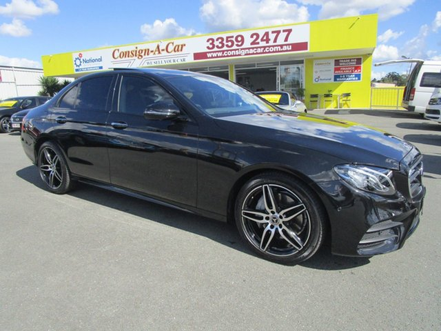 Used Mercedes-Benz E-Class W213 E200 9G-Tronic PLUS, 2017 Mercedes-Benz E-Class W213 E200 9G-Tronic PLUS Black 9 Speed Sports Automatic Sedan