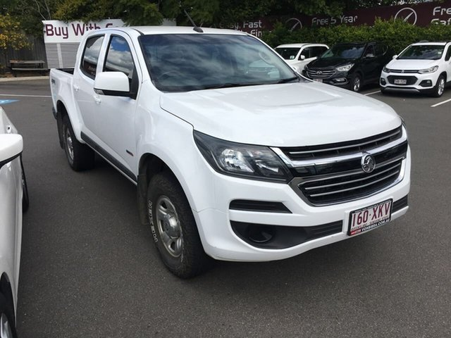 Used Holden Colorado RG MY17 LS Pickup Crew Cab, 2017 Holden Colorado RG MY17 LS Pickup Crew Cab White 6 Speed Sports Automatic Utility