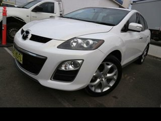 2010 Mazda CX-7 ER MY10 Luxury Sports (4x4) White 6 Speed Auto Activematic Wagon.