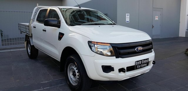 Used Ford Ranger PX MkII XL 2.2 Hi-Rider (4x2), 2015 Ford Ranger PX MkII XL 2.2 Hi-Rider (4x2) White 6 Speed Automatic Cab Chassis