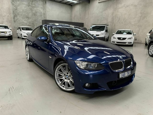 Used BMW 3 Series E92 MY10 335i D-CT, 2009 BMW 3 Series E92 MY10 335i D-CT Blue 7 Speed Sports Automatic Dual Clutch Coupe