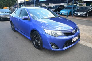 2014 Toyota Camry ASV50R RZ S.E. Blue 6 Speed Automatic Sedan.