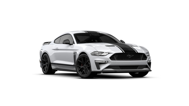 New Ford Mustang FN 2020MY GT Fastback RWD, 2019 Ford Mustang FN 2020MY GT Fastback RWD Oxford White 6 Speed Manual Fastback