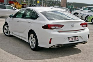 2018 Holden Commodore ZB MY18 RS-V Liftback AWD White 9 Speed Sports Automatic Liftback.