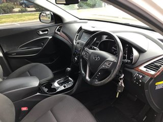 2017 Hyundai Santa Fe DM5 MY18 Active CRDi (4x4) White 6 Speed Automatic Wagon.