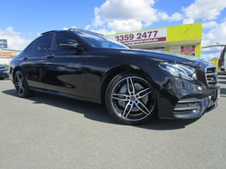 2017 Mercedes-Benz E-Class W213 E200 9G-Tronic PLUS Black 9 Speed Sports Automatic Sedan