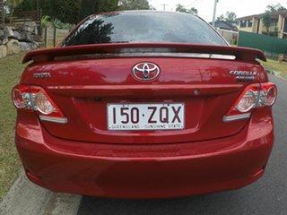 2012 Toyota Corolla ASCENT Sport Red Auto Active Select Sedan