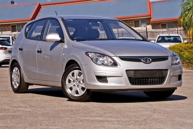 Used Hyundai i30 FD MY11 SX, 2012 Hyundai i30 FD MY11 SX Silver, Chrome 4 Speed Sports Automatic Hatchback