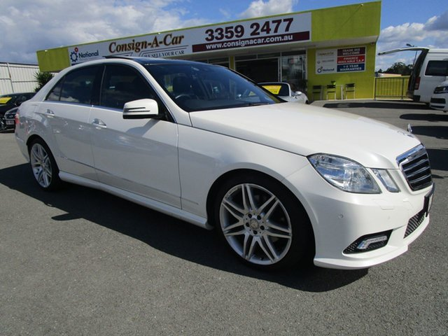 Used Mercedes-Benz E-Class W212 E350 7G-Tronic Avantgarde, 2011 Mercedes-Benz E-Class W212 E350 7G-Tronic Avantgarde White 7 Speed Sports Automatic Sedan