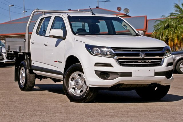 Used Holden Colorado RG MY18 LS Crew Cab, 2018 Holden Colorado RG MY18 LS Crew Cab White 6 Speed Sports Automatic Cab Chassis