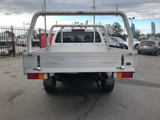 2015 Isuzu D-MAX TF MY15 SX (4x4) White 5 Speed Automatic Cab Chassis