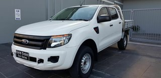 2015 Ford Ranger PX MkII XL 2.2 Hi-Rider (4x2) White 6 Speed Automatic Cab Chassis.
