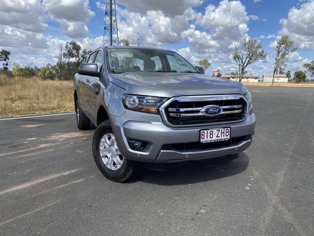 Used Ford Ranger PX MkIII 2020.25MY XLS Pick-up Double Cab, 2019 Ford Ranger PX MkIII 2020.25MY XLS Pick-up Double Cab Aluminium 6 Speed Sports Automatic