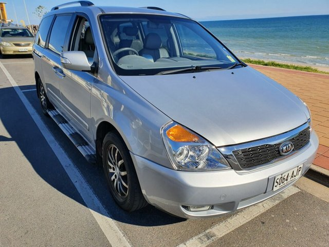Used Kia Grand Carnival VQ Platinum, 2010 Kia Grand Carnival VQ Platinum Silver 5 Speed Sports Automatic Wagon