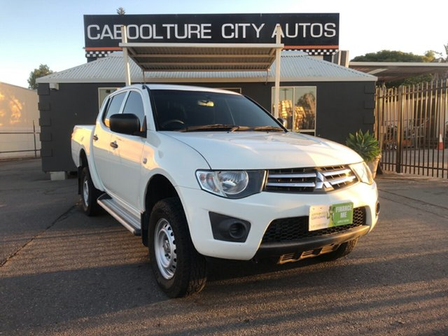 Used Mitsubishi Triton MN MY12 GLX, 2012 Mitsubishi Triton MN MY12 GLX White 4 Speed Automatic Double Cab Utility