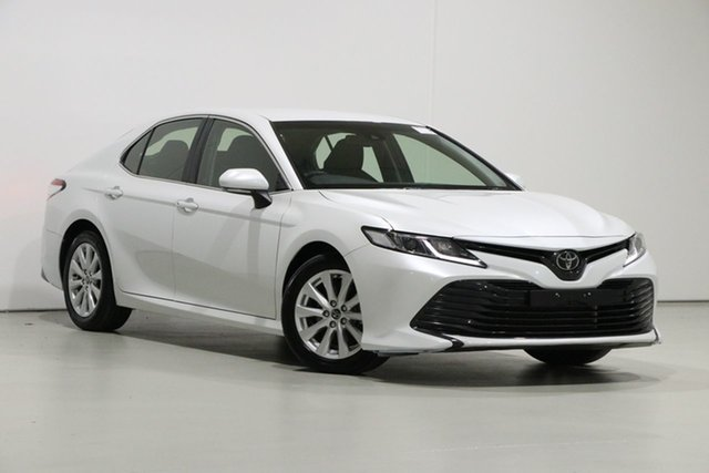 Used Toyota Camry ASV70R Ascent, 2018 Toyota Camry ASV70R Ascent Crystal Pearl 6 Speed Automatic Sedan