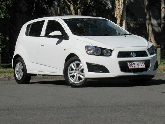 Used Holden Barina TM MY14 CD, 2014 Holden Barina TM MY14 CD White 5 Speed Manual Hatchback