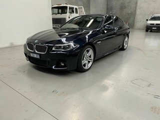 2013 BMW 5 Series F10 LCI 535d Steptronic M Sport Blue 8 Speed Sports Automatic Sedan