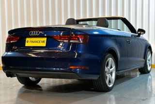 2015 Audi A3 8V MY15 Ambition S Tronic Quattro Blue 6 Speed Sports Automatic Dual Clutch Cabriolet