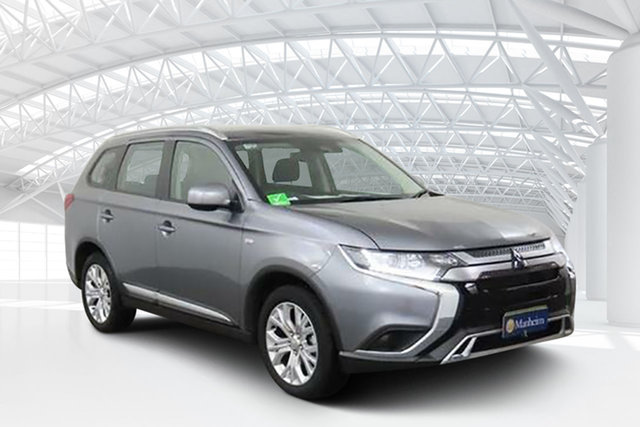 Used Mitsubishi Outlander ZL MY19 ES 2WD, 2019 Mitsubishi Outlander ZL MY19 ES 2WD Grey 6 Speed Constant Variable Wagon