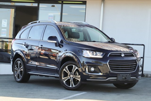 Used Holden Captiva CG MY16 LTZ AWD, 2016 Holden Captiva CG MY16 LTZ AWD Blue 6 Speed Sports Automatic Wagon