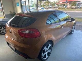 2012 Kia Rio UB MY13 SLS Brown 6 Speed Manual Hatchback