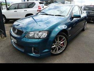2012 Holden Commodore VE II MY12.5 SS-V Z-Series Aqua 6 Speed Automatic Utility.