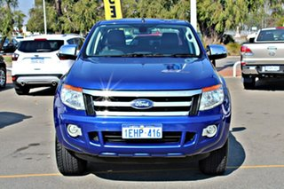 2013 Ford Ranger PX XLT Double Cab Blue 6 Speed Sports Automatic Utility.