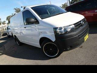 2013 Volkswagen Transporter T5 MY13 TDI 250 SWB Low White 5 Speed Manual Van.