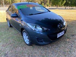 2010 Mazda 2 DE10Y1 MY10 Maxx Grey 5 Speed Manual Sedan