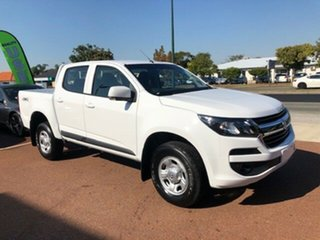 2020 Holden Colorado RG MY20 LS Pickup Crew Cab Summit White 6 Speed Sports Automatic Utility.