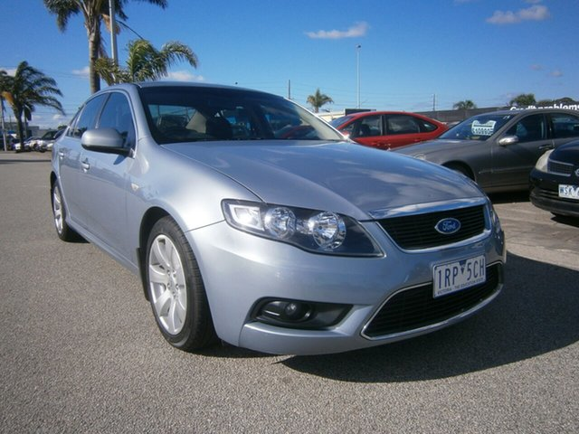 Used Ford Falcon FG G6, 2008 Ford Falcon FG G6 Silver 5 Speed Sports Automatic Sedan