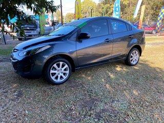 2010 Mazda 2 DE10Y1 MY10 Maxx Grey 5 Speed Manual Sedan.