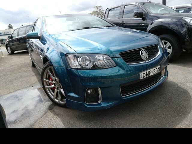 Used Holden Commodore VE II MY12.5 SS-V Z-Series, 2012 Holden Commodore VE II MY12.5 SS-V Z-Series Aqua 6 Speed Automatic Utility