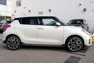 2019 Suzuki Swift AZ Sport White 6 Speed Manual Hatchback.
