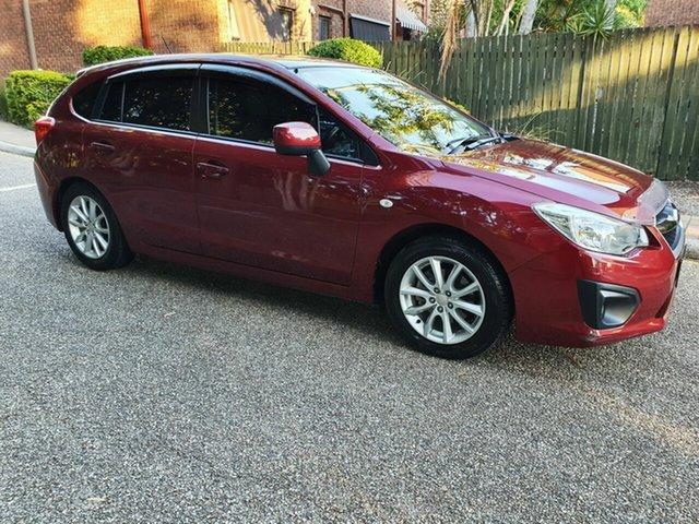 Used Subaru Impreza MY14 2.0I-L (AWD), 2014 Subaru Impreza MY14 2.0I-L (AWD) Red Continuous Variable Hatchback