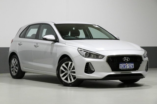 Used Hyundai i30 PD2 MY19 Active, 2018 Hyundai i30 PD2 MY19 Active Silver 6 Speed Automatic Hatchback