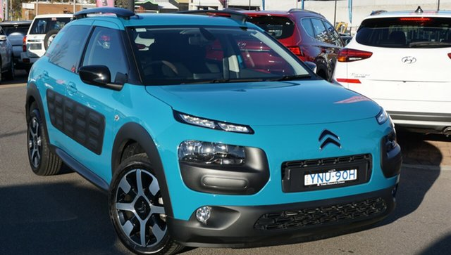 Used Citroen C4 Cactus E3 MY18 Exclusive, 2017 Citroen C4 Cactus E3 MY18 Exclusive Blue 6 Speed Sports Automatic Wagon