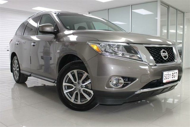 Used Nissan Pathfinder R52 ST, 2013 Nissan Pathfinder R52 ST Grey 1 Speed Constant Variable Wagon