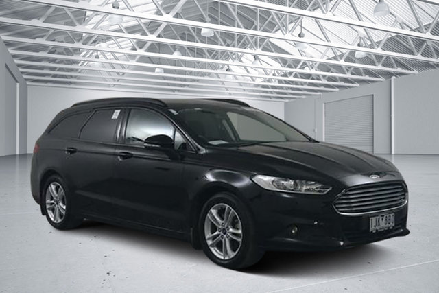 Used Ford Mondeo MD Ambiente TDCi, 2016 Ford Mondeo MD Ambiente TDCi Black 6 Speed Automatic Wagon