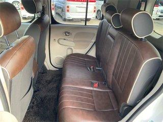 2015 Nissan Cube White Hatchback