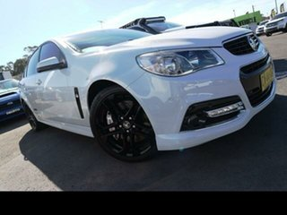 2015 Holden Commodore VF II SS-V Redline White 6 Speed Manual Sedan.