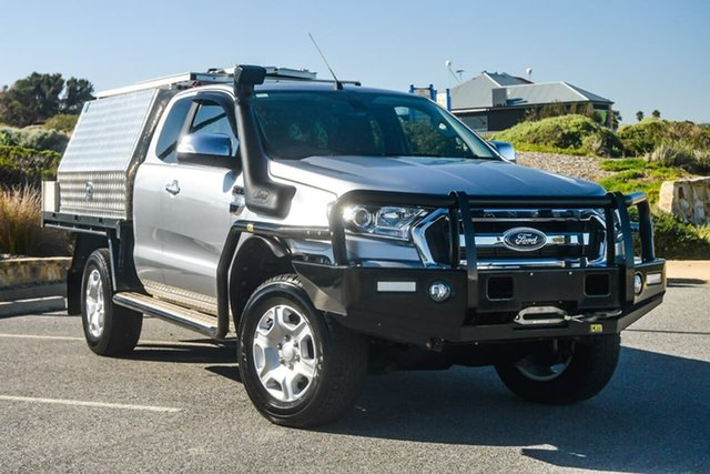 Used Ford Ranger PX MkII XLT Super Cab, 2015 Ford Ranger PX MkII XLT Super Cab Silver 6 Speed Sports Automatic Utility
