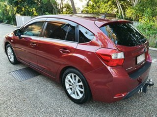 2014 Subaru Impreza MY14 2.0I-L (AWD) Red Continuous Variable Hatchback