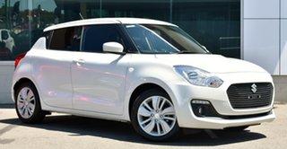 2020 Suzuki Swift AZ GL Navigator White 1 Speed Constant Variable Hatchback.