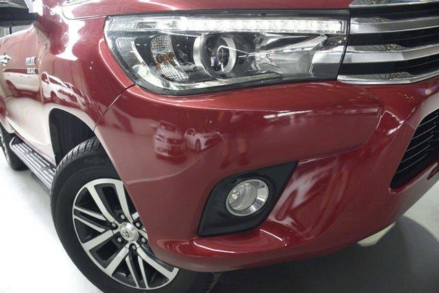 Used Toyota Hilux GUN126R SR5 (4x4), 2017 Toyota Hilux GUN126R SR5 (4x4) Red 6 Speed Automatic Dual Cab Utility