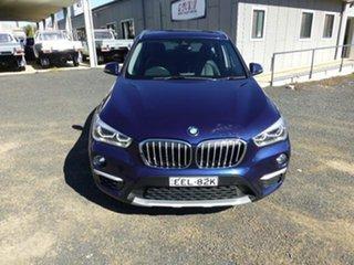 2015 BMW X1 F48 sDrive 18D Blue 8 Speed Automatic Wagon.