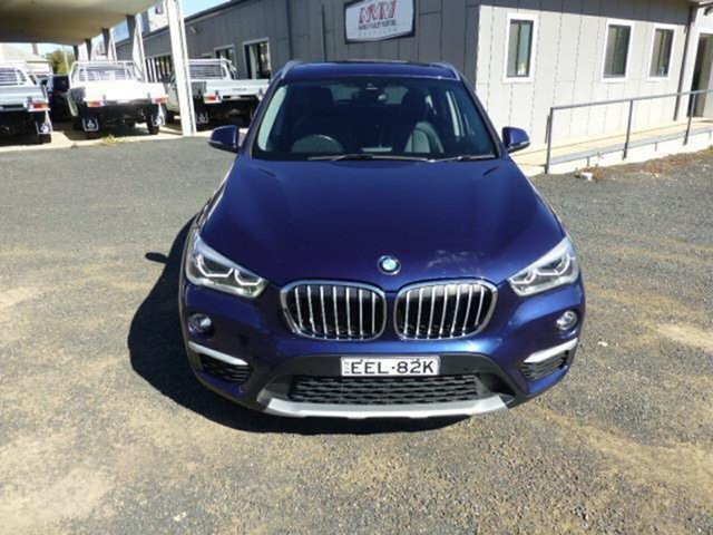 Used BMW X1 F48 sDrive 18D, 2015 BMW X1 F48 sDrive 18D Blue 8 Speed Automatic Wagon